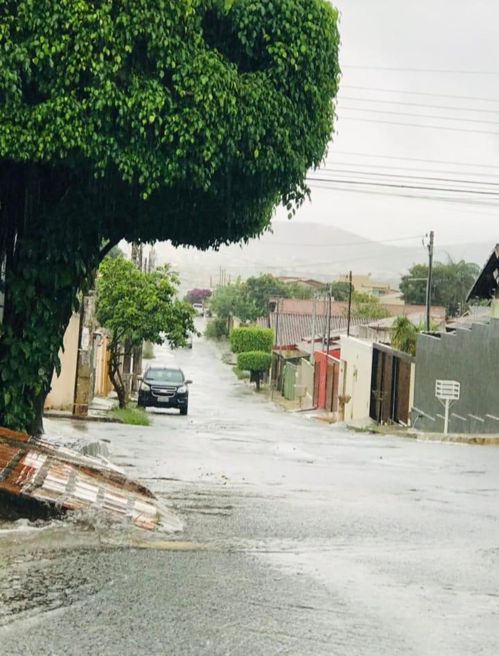 Previsão é de chuva sem trégua no final e início de semana em Sete Lagoas