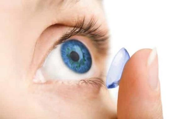 Posso usar lentes de contato?