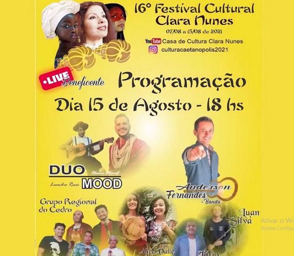 16ª edição do Festival Clara Nunes será encerrada neste domingo