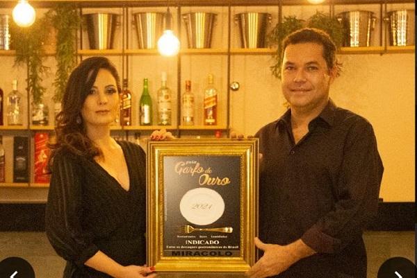 Miracolo Restaurante, de Sete Lagoas, é indicado pelo guia Garfo de Ouro 2021