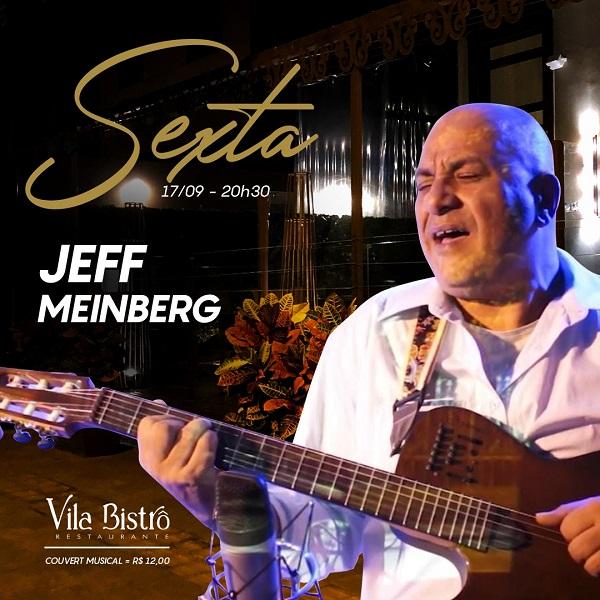 Villa Bistrô recebe Jeff Meinberg com o show Sambossand'Roll
