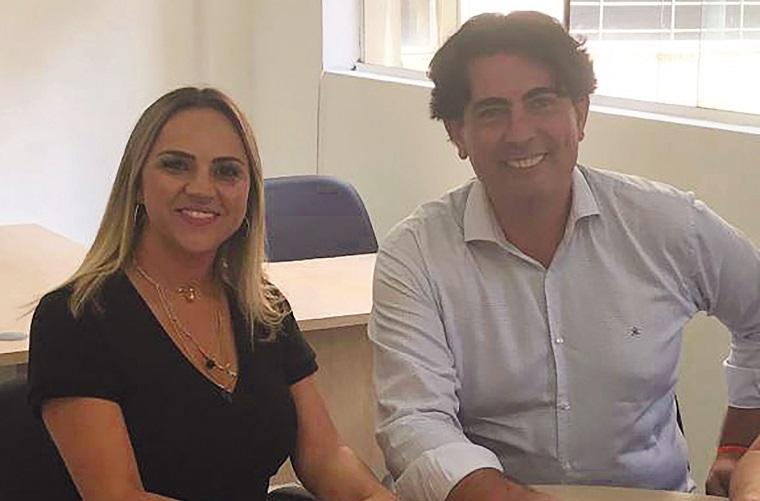 Emanuelly Freire e Jean Karllo
