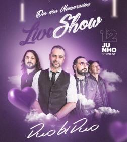 Live do Dia dos Namorados com a banda Duo bi Duo nesta sexta: veja onde assistir