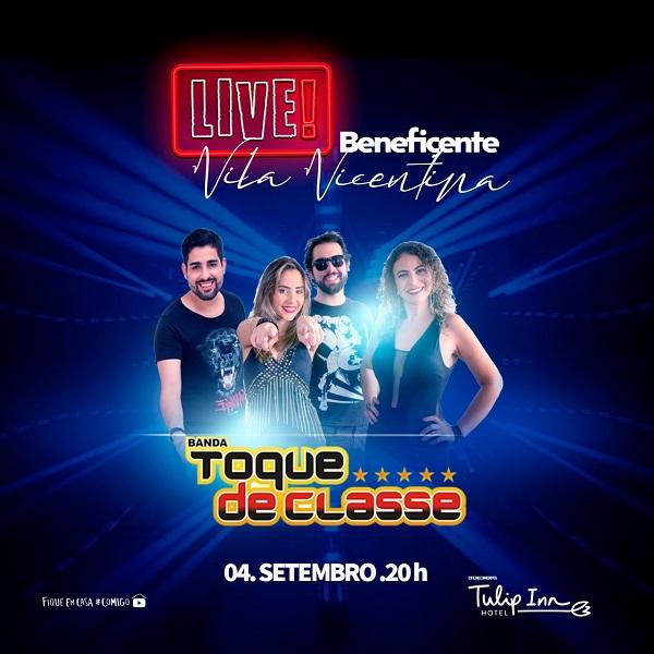 Tulip Inn Sete Lagoas promove live musical beneficente nesta sexta com sorteio de hospedagem