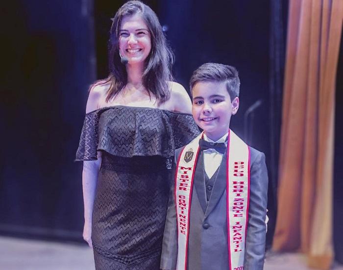 Vencedor do Mister Infantil BH tem raízes sete-lagoanas e já inicia carreira de ator