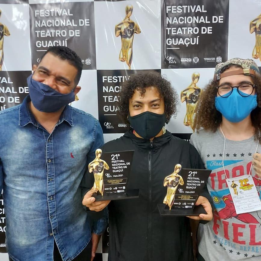 Grupo sete-lagoano é premiado em festival nacional de teatro