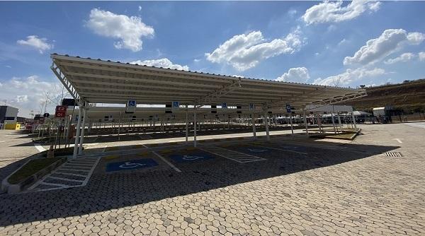 Aeroporto Internacional de BH inaugura estacionamento após reforma
