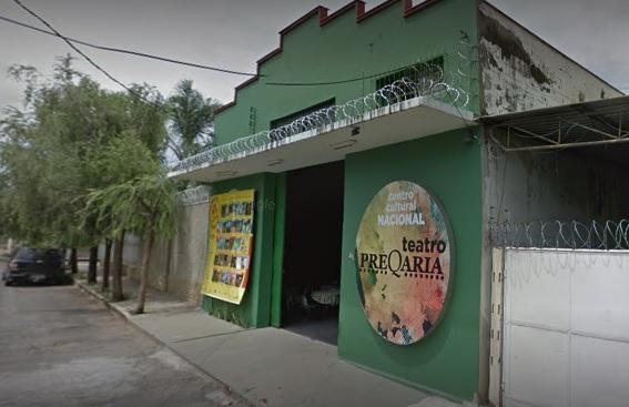 A Preqaria Cia. de Teatro fica na rua Aleixo Lanza, 41 - bairro Canaã