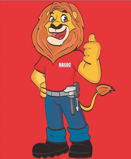 RAILOC lança mascote e anuncia promoção